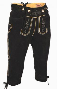 Bavarian Knickerbockers Justin V-Beam black