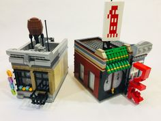 Downtown Sushi Restaurant and Dojo with Grocer LEGO IDEAS – Product Ideas – Downtown Sushi Restaurant and Dojo with Grocer Lego Jurassic World, Lego Ninjago City, Lego City, Casa Lego, Food Truck Design, Lego Modular, Sushi Restaurants, Brick Block, Ghostbusters