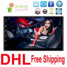 Car Electronics 2 Din Without DVD Video Player Android Stereo GPS Navigation Bluetooth AM/FM/RDS Radio For Universal Nissan