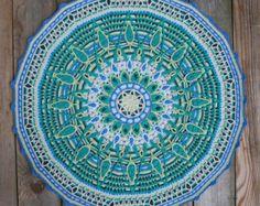 Crochet décoratif Mandala n 1 Pattern PDF par CAROcreated sur Etsy