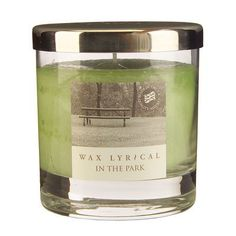 Wax Lyrical W/f Jar Medium In The Park, Green: Inject some stylish ambience to any room in your home with the simple design of… Scented Candles, Candle Jars, Mason Jars, Classic Candles, Wax Lyrical, Own Home, Simple Designs, Diffuser, Lyrics