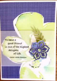 Birthday Card-Thinking Of You Card-Friendship Card-Thank You Card by sentimentsbydesign1 on Etsy