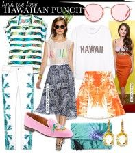 Pack A Hawaiian Punch In These Tropical-Inspired Pieces via Who What Wear