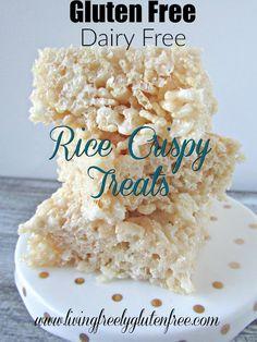 Living freely gluten free: Rice Crispy Treats (Gluten Free, Dairy Free)