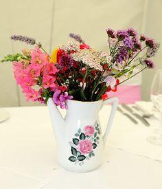 Wedding table flowers.. xx