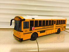 Toy School Bus, Buses, My Childhood, Motorhome, Diecast, Derby, Trucks, Building, Vehicles