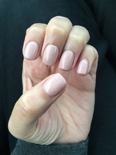 Gel Manicure 2 Coats Of Opi S Quot Funny Bunny Quot And 1 Coat Of Opi S Quot Chiffon On My Mind Quot Mani