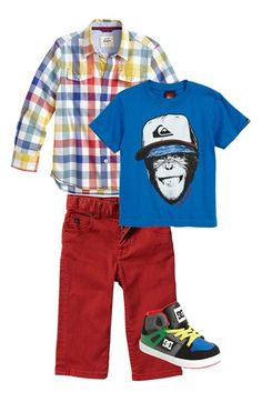Perfect outfit for the little monkey man.