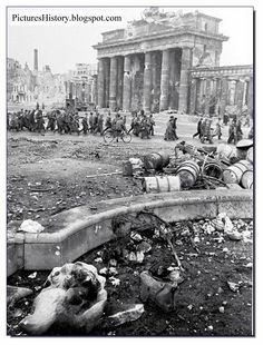 Berlin in 1945 was a city of doom. Utterly destroyed in the WW2. Here are images of that city in 1945.