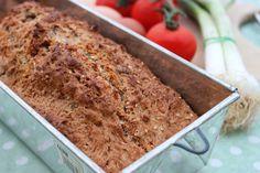Celozrnný mrkvový chleba bez kynutí