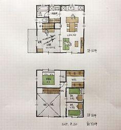 『32坪の間取り』 ・ 玄関をフリースペースの土間空間としました。 自転車も家の中に入れられます。 スケボーやボルタリングなどアクティブに使える?土間空間。 ・ #間取り#間取り集 #間取り図 #間取り力 #間取り相談 #間取り萌え #間取り図大好き #マイホーム計画 #マイホーム計画三重 #マイホーム計画開始 #三重県#三重の家 #三重の住宅 #三重の建築家 #三重の間取り #三重の設計事務所#三重で家を建てる#32坪の間取り#土間のある家 #土間のある間取り #半屋外空間 #土間リビングのある間取り #自転車を入れられる間取り
