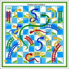 Printable Board Games Board Games are fun. Board Games are exciting. Board Games are… not free. Snakes And Ladders Template, Snakes And Ladders Printable, Mazes For Kids Printable, Printable Board Games, Free Printable, Kid Printables, Printable Coloring, Free Board Games, Free Games For Kids
