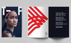Nike Track and Field – We were commissioned to work with the Nike brand team on the new look and feel for Track and Field, 2016. This comprehensive graphic system includes — Typography, typographic …