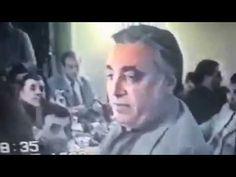 Президент Армении Сержик Саргсян пирует с Дедом Хасаном, Размиком Амояно...