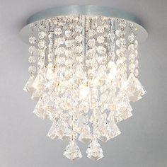 Buy John Lewis Katelyn Semi Flush Light Online at johnlewis.com