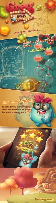 A nice style that we can adopt for our game designs or even app design that's catered for kids