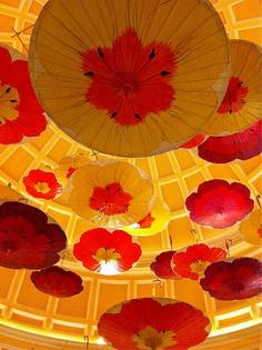 Ceilings at the Encore ~Wynn
