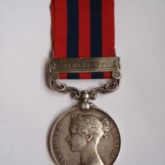 1854 India General Service Medal (Bar - Samana 1891) - 42nd Gurkha Rifles | Cultman Collectables