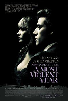 Albert Brooks, Alessandro Nivola, David Oyelowo, Oscar Isaac and Jessica Chastain in A Most Violent Year (2014)