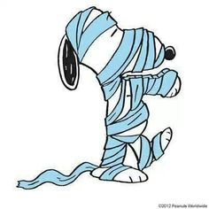 Snoopy Mummy