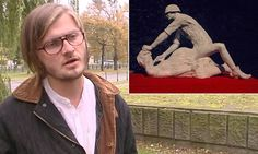Polish town tears down statue marking the rape of millions of German women by Russian soldiers -- The statue, entitled Komm Frau (Come Here Woman), appeared on Gdansk's Avenue of Victory on  Saturday evening.  Artist Jerzy Szumczyk told Polish Radio he had researched the subject of rape by the  Red Army as it made its way across Eastern Europe between 1944 and 1945 towards Berlin.