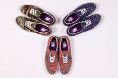 Liberty x Vans Collection Summer 2013