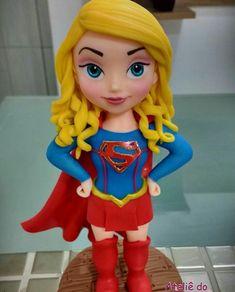 Supergirl, Superman, Harajuku, Disney Characters, Fictional Characters, Disney Princess, Super Heros, Fondant, Style
