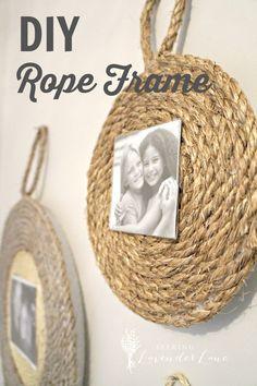 DIY Rope Frame
