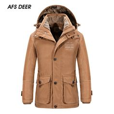 99.99$  Watch here - http://ali1x9.worldwells.pw/go.php?t=32587717925 - 2016 British Style Winter Size L~ 3 XL Men Fashion Solid Color Pockets Button Hoodie Coat Young Boy Leisure Loose Warm Parkas