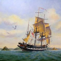 HMS Beagle. A Cherokee-class brig-sloop, launched from the Woolwich Dockyard. She was adapted as a survey barque and took part in three expeditions, the second of which was the voyage on which the young Charles Darwin began to form his theory of evolution.:
