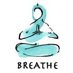 Calming Breathe Tattoo Design