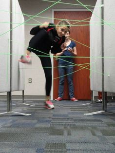 """Prior to the release of """"Catching Fire"""" in the theaters, teens competed in """"Hunger Games: Tribute Training"""". They competed for the best score in courses like agility, plant and animal identification, target practice, and a speed challenge."""