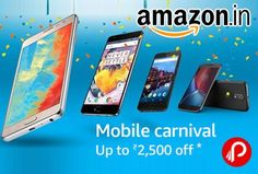 Nice OnePlus 2017: Amazon brings #Mobile #Carnival and offering Upto Rs.2500 off discount on Mobile... Amazon Deals Check more at http://technoboard.info/2017/product/oneplus-2017-amazon-brings-mobile-carnival-and-offering-upto-rs-2500-off-discount-on-mobile-amazon-deals/