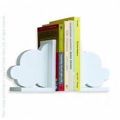Design Ideas 2 Piece Cloud Bookends Set