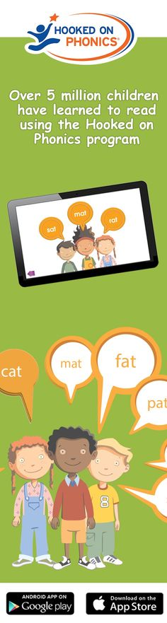 Hooked on Phonics, the #1 Learn to Read Program !