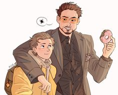 Peter and Mr. Stark