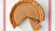 A custardy navy bean puree is generously spiced with cinnamon for the filling of this fall-friendly pie. Martha made this recipe on episode 703 of Martha Bakes.