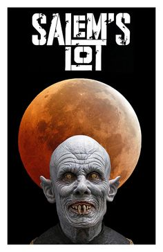 Salem's Lot (1979) One of my favorites. Poster by Silverbullet56.deviantart.com on @DeviantArt. Mr. Barlow bust by Russ Lukich.