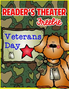 Teach123 - Tips for Teachers: FREE Reader's Theater: Veterans Day - Tuesday Teacher Tip