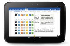 Office ya está disponible para tablets con Android