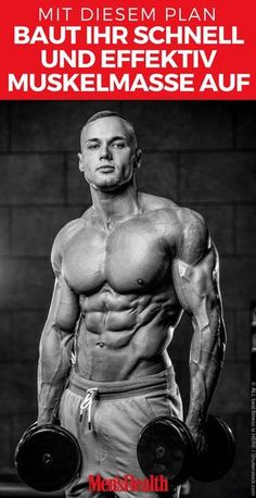 That& how everyone builds So baut jeder Your time as a hardgainer is over now. We show you the optimal nutritional plan for mass and muscle building Fitness Hacks, Planet Fitness Workout, Fitness Workouts, Fitness Motivation, Training Motivation, Fun Workouts, Health Pictures, Aerobics Workout, Aerobic Exercises