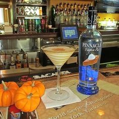 Pumpkin Pie Vodka & Martini - Oh I have to find this right away.