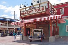 Best free things to do at Disneyland -  get a bread sample on the Boudin Factory tour.