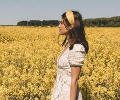 Summer in the English Countryside See more outfits from my trip to England here . And Other Stories Ruffled Linen Wrap Midi Dress ( same [. Hair Mask For Growth, Halloween Tags, Spring Break, Summer, Best Albums, English Countryside, Knot Headband, Daydream, Find Image