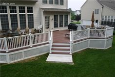 nice deck for the cottage
