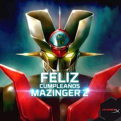 Feliz cumpleaños Mazinger Z