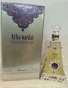 Arba Wardat by Rasasi  30ML CPO,Concentrated Arabian Perfume oil Oriental Exotic #Rasasi