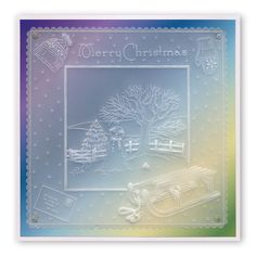 by Chris Walker - Parchment craft Parchment Design, Parchment Cards, Snowman Cards, Homemade Christmas Cards, Christmas Scenes, Xmas Crafts, Learn To Paint, Winter Scenes, Paper Cards