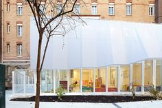 """Epée de Bois Nursery extension by h2o architectes 