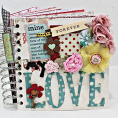 MY LOVE A-Z Scrapbook Photo Scrapbooking Album